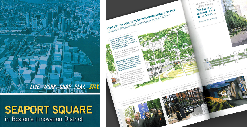 Seaport Square in Boston's Innovation District