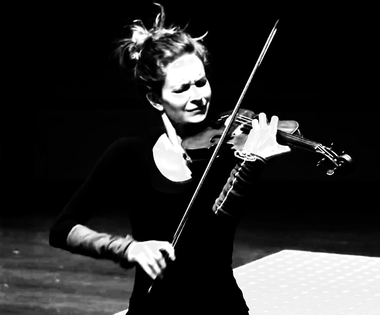 Ysaÿe Sonata No. 4 for solo violin  , Video Still - Digital Capture, 2013     CLICK   for  PERFORMANCE GALLERY