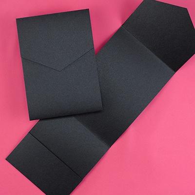Classic Pocket - Black Shimmer