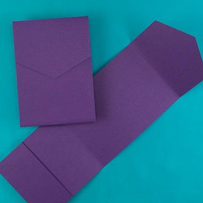 Classic Pocket - Purple Shimmer