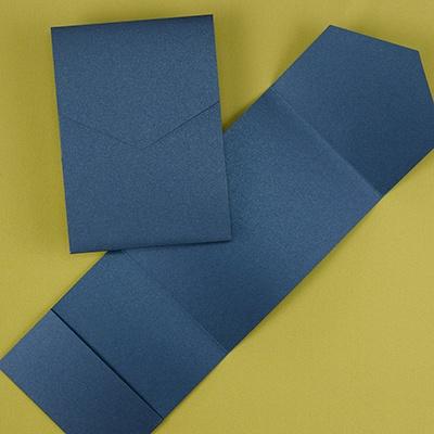 Classic Pocket - Navy Shimmer
