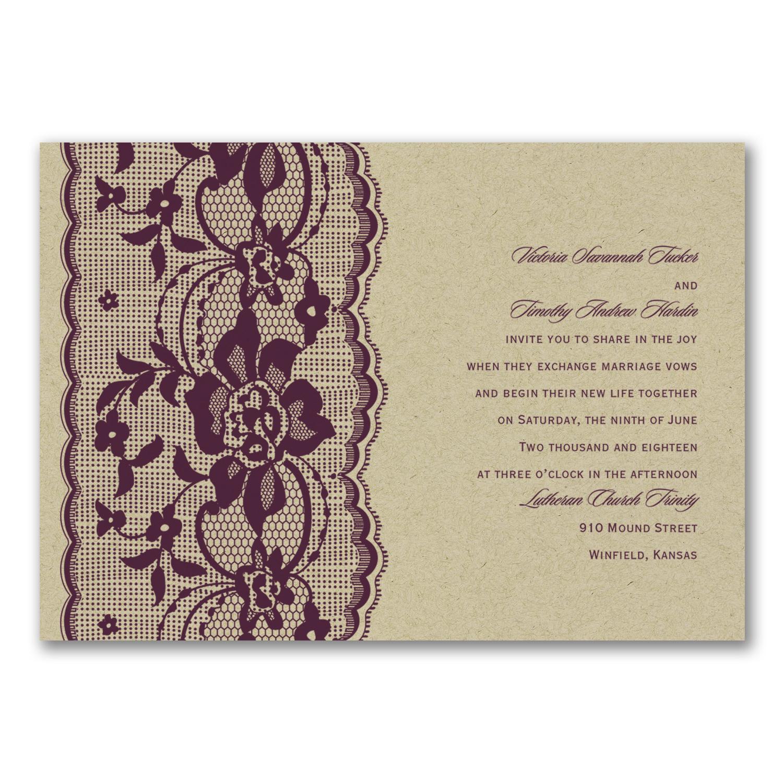 Love Lace - Invitation