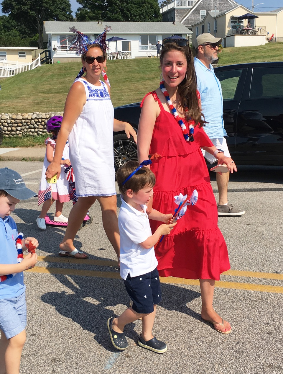 4th of July Parade, Lauren Corrinet chair