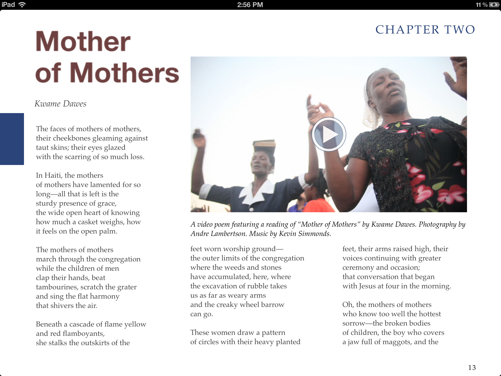 """From the e-book, """"Voices of Haiti"""""""