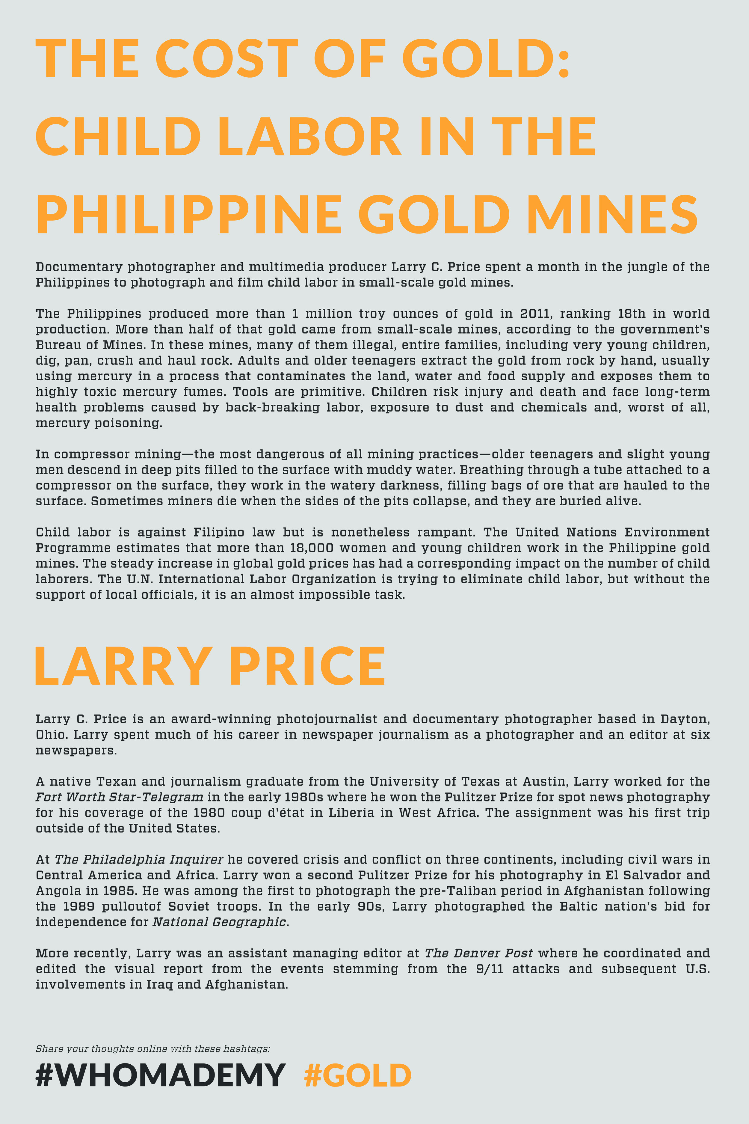 """From the FotoDC exhibition """"Global Goods Local Costs"""""""