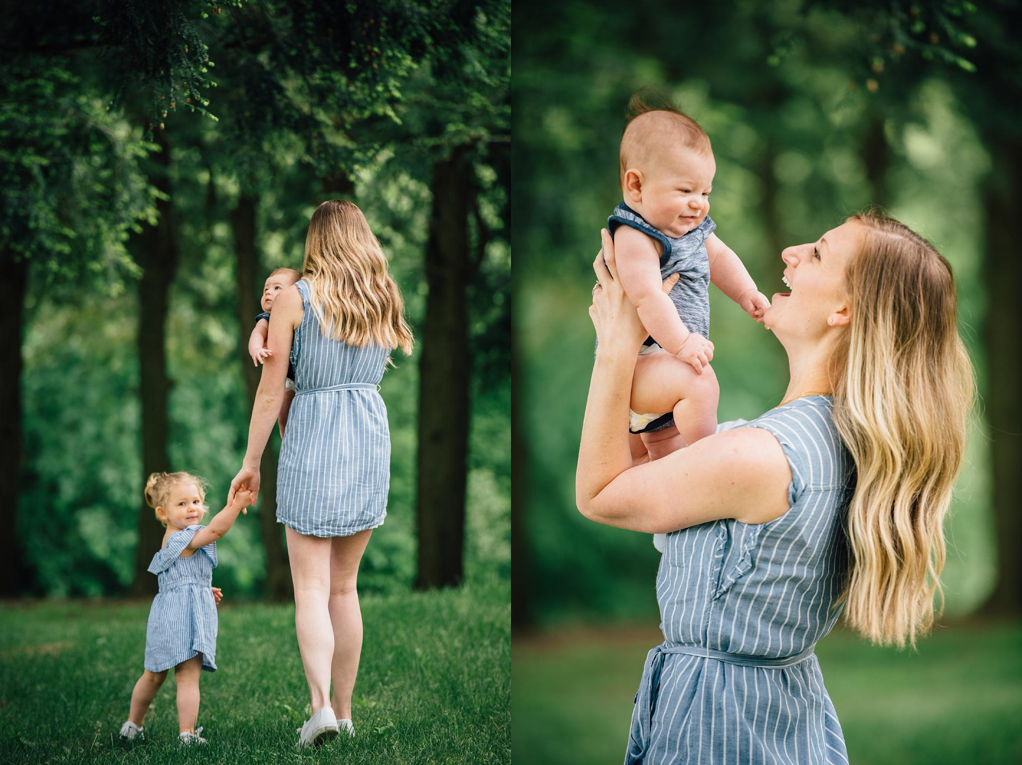 Mommy and Me Photography Hartwood Acres Pittsburgh