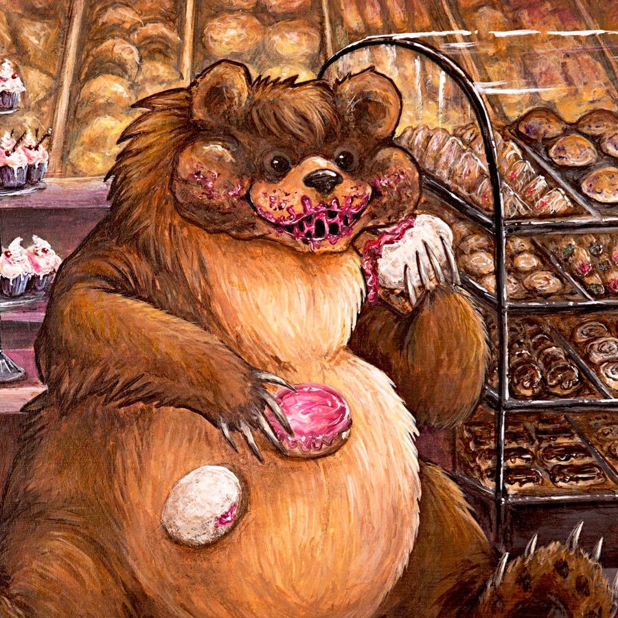 Bear in the Bakery