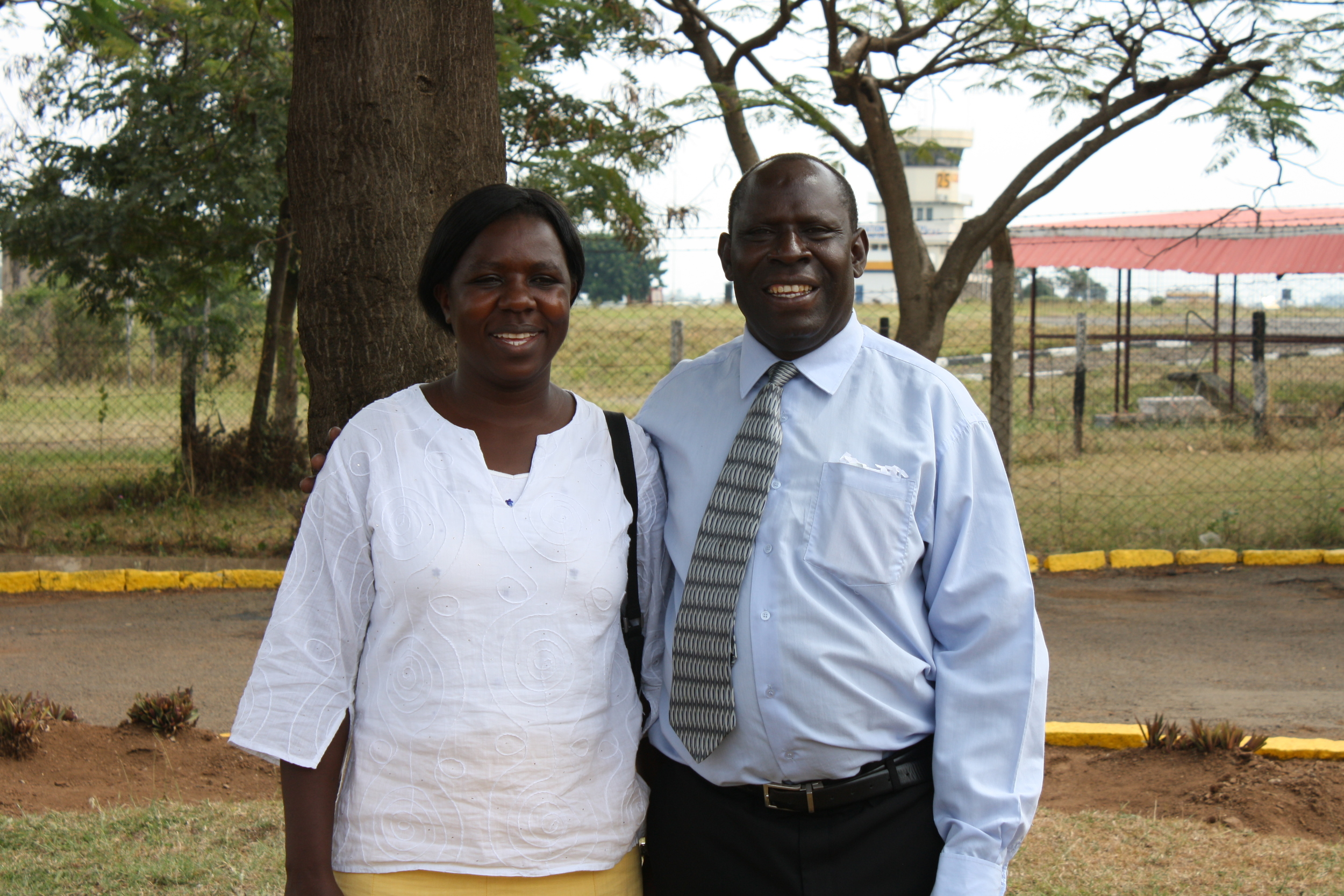Kenya National Director for PIEI Benard Ondiek and his wife Pamela.