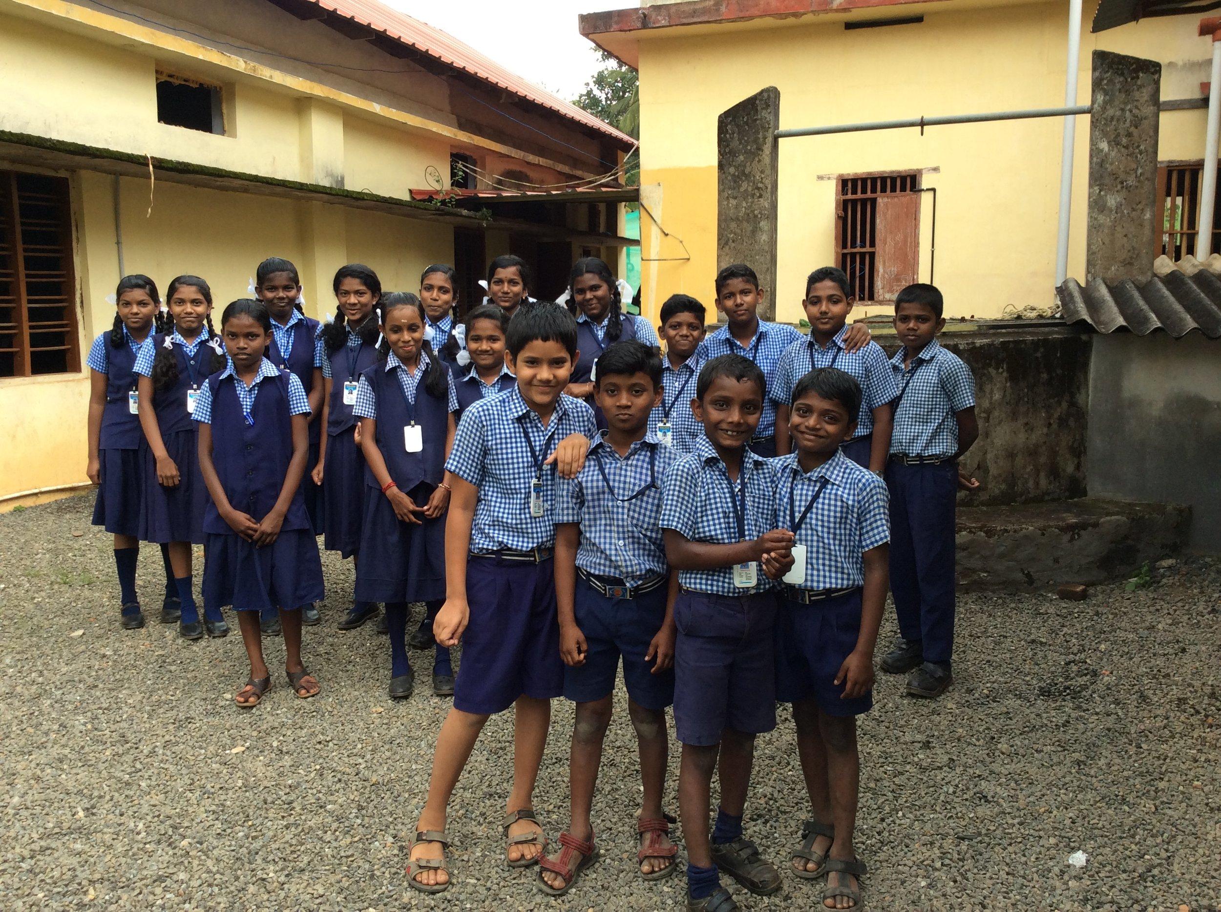 Students of Bethany Christian English Medium School