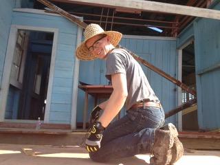 Caleb on the job!.jpeg