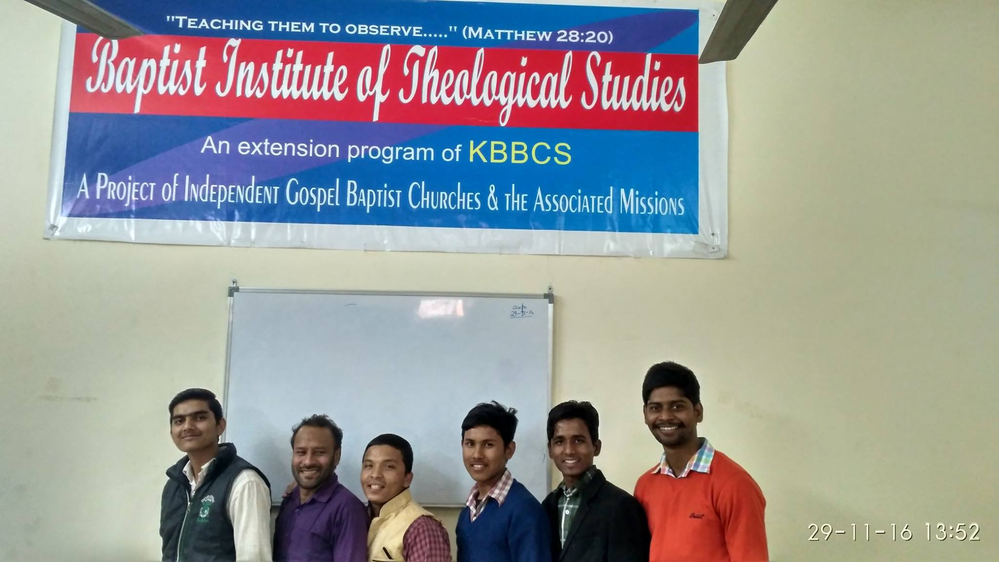 Future Church planters and Pastors - Pray for these young people..