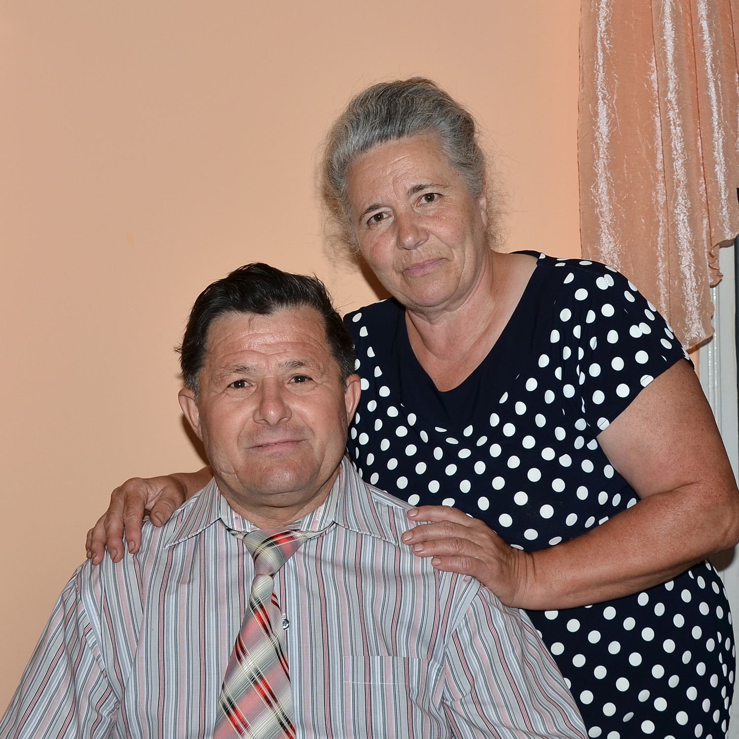 Pavel and his wife Larissa
