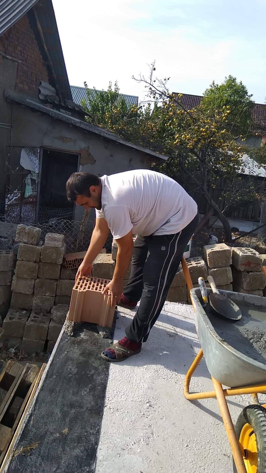 First brick - PRAISE GOD!