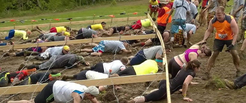 Tough Mudder Kis of Death Barbed Wire