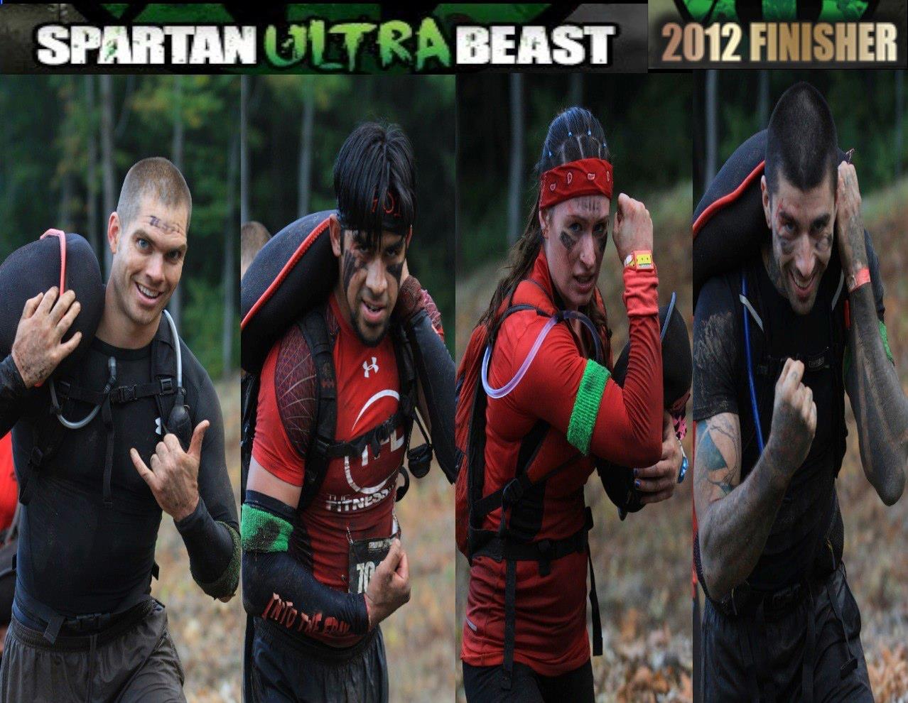 Spartan Ultra Beast Finishers 2012