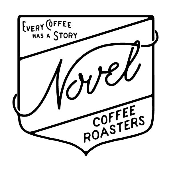 Novel Logo On Black