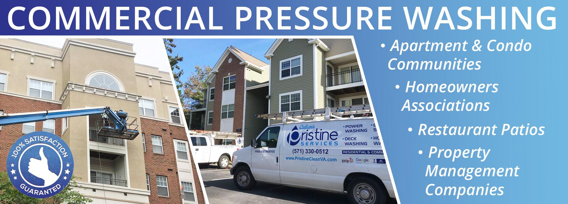 Commercial Pressure Washing Callan S Pristine Services