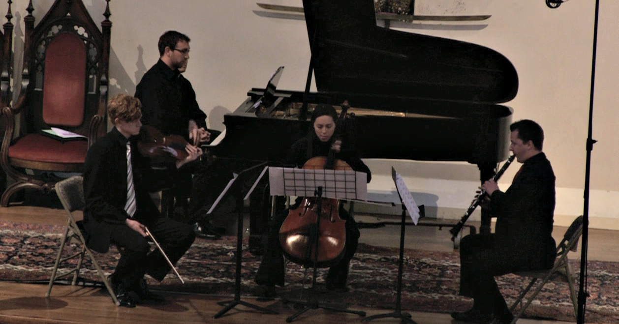 "Quartet for Violin, Clarinet, Cello & Piano by Joseph Stillwell at ""A Celebration of Bay Area Music"""