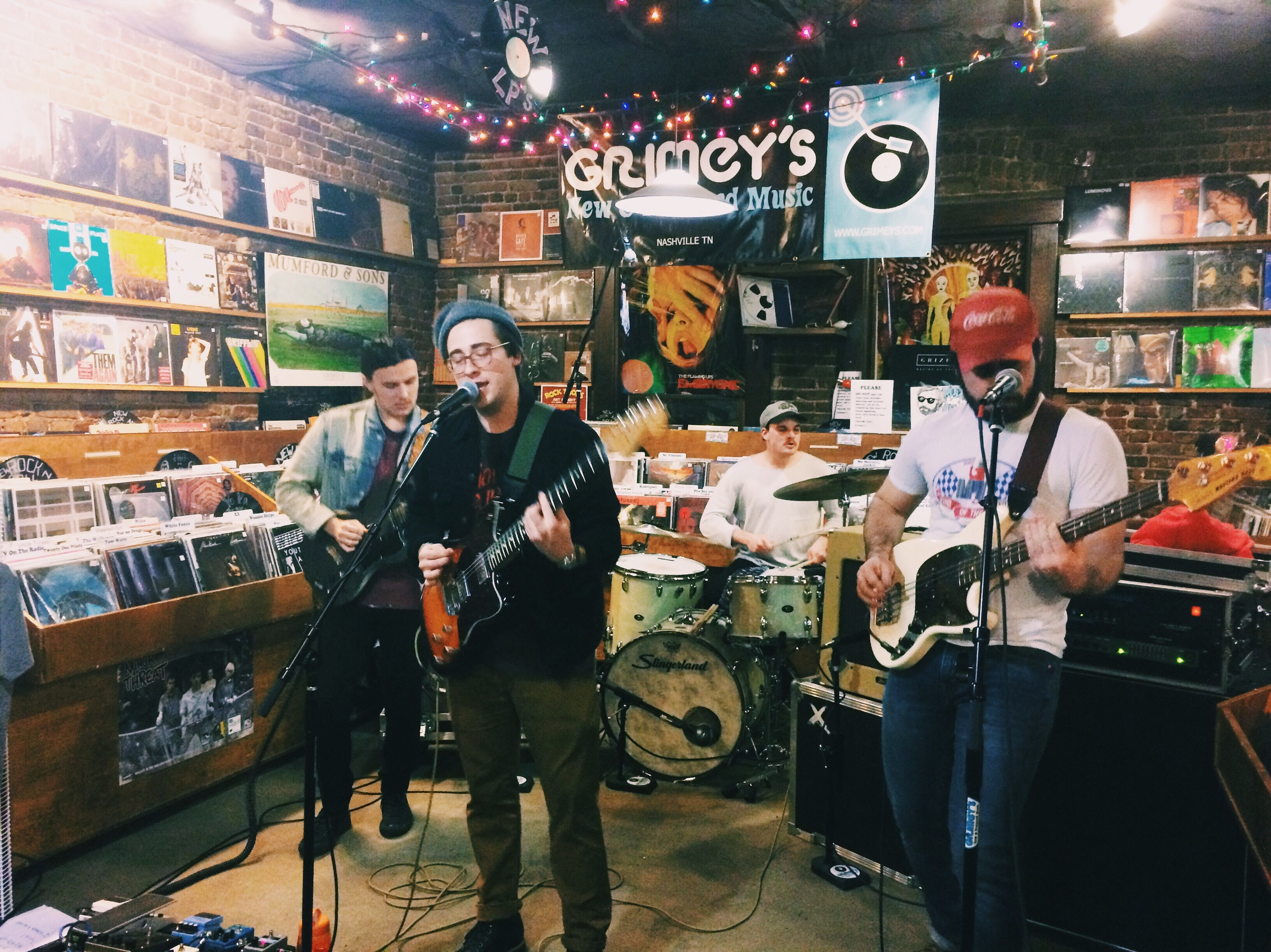 In-Store Performance at Grimey's in Nashville TN