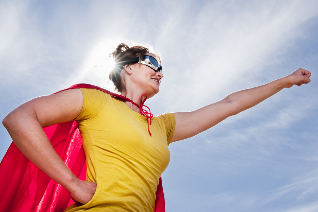 If you have your health, you have everything. Perhaps even super powers!