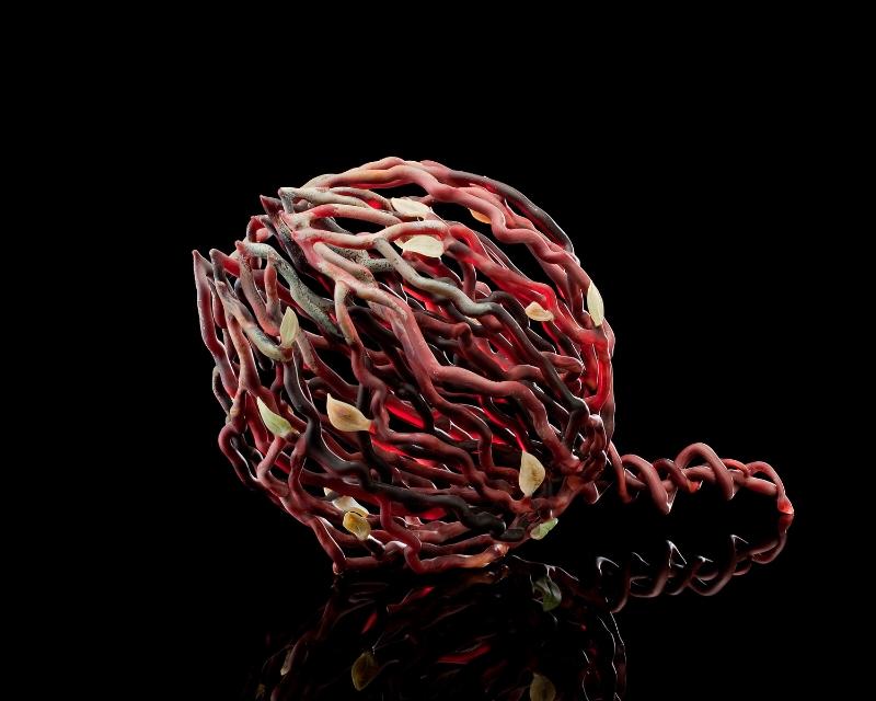 Garnet Tumbleweed Before its Tumble