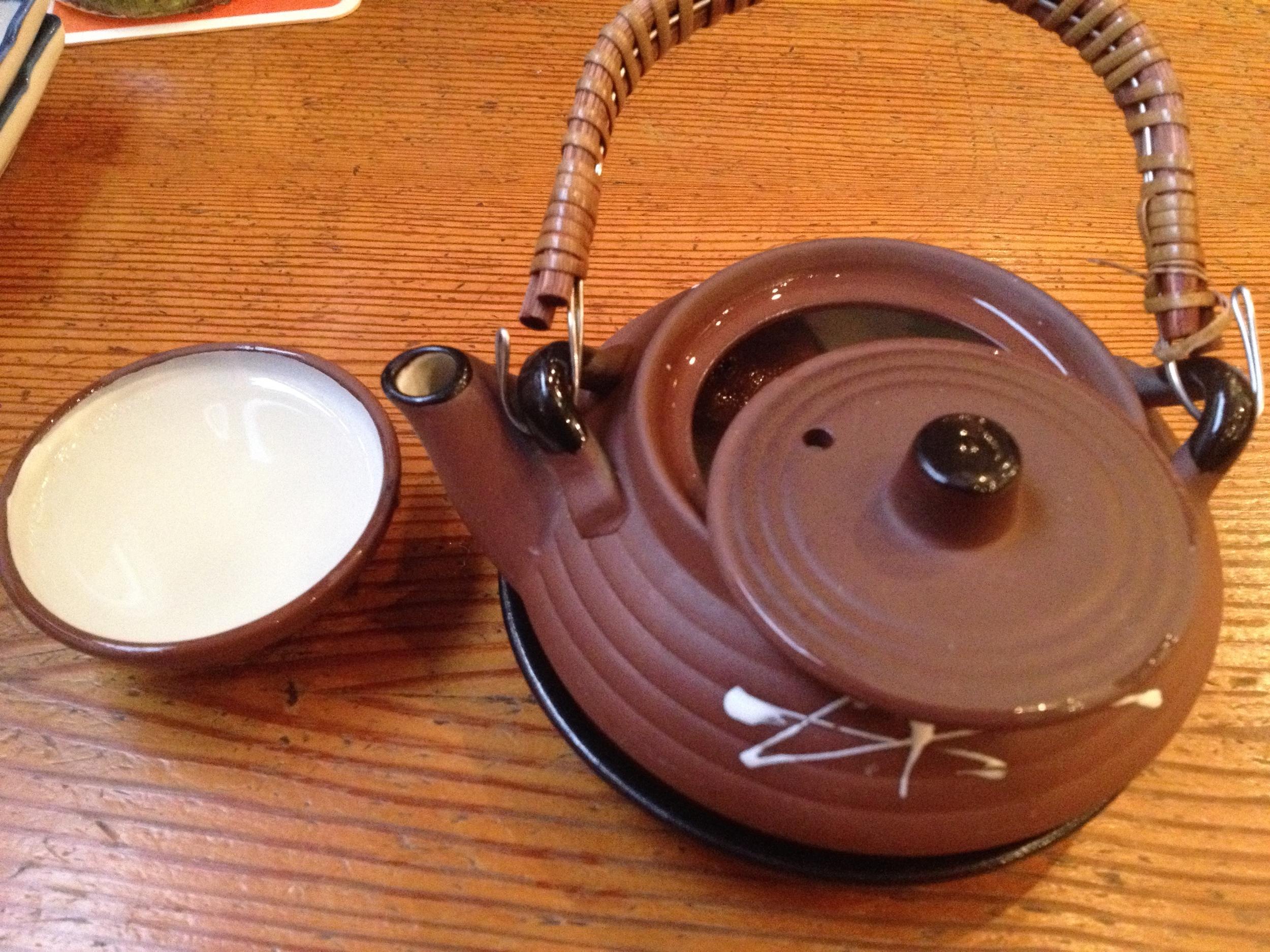 Dobin-Mushi (mushroom soup)