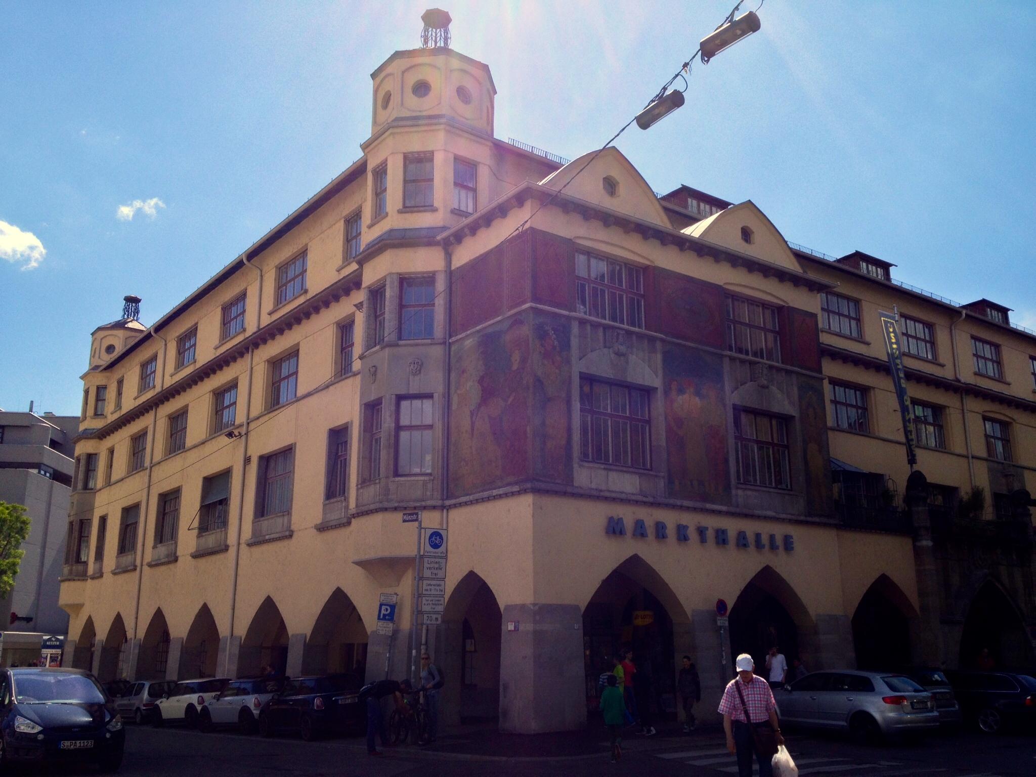 The Stuttgart Markthalle, built in 1914