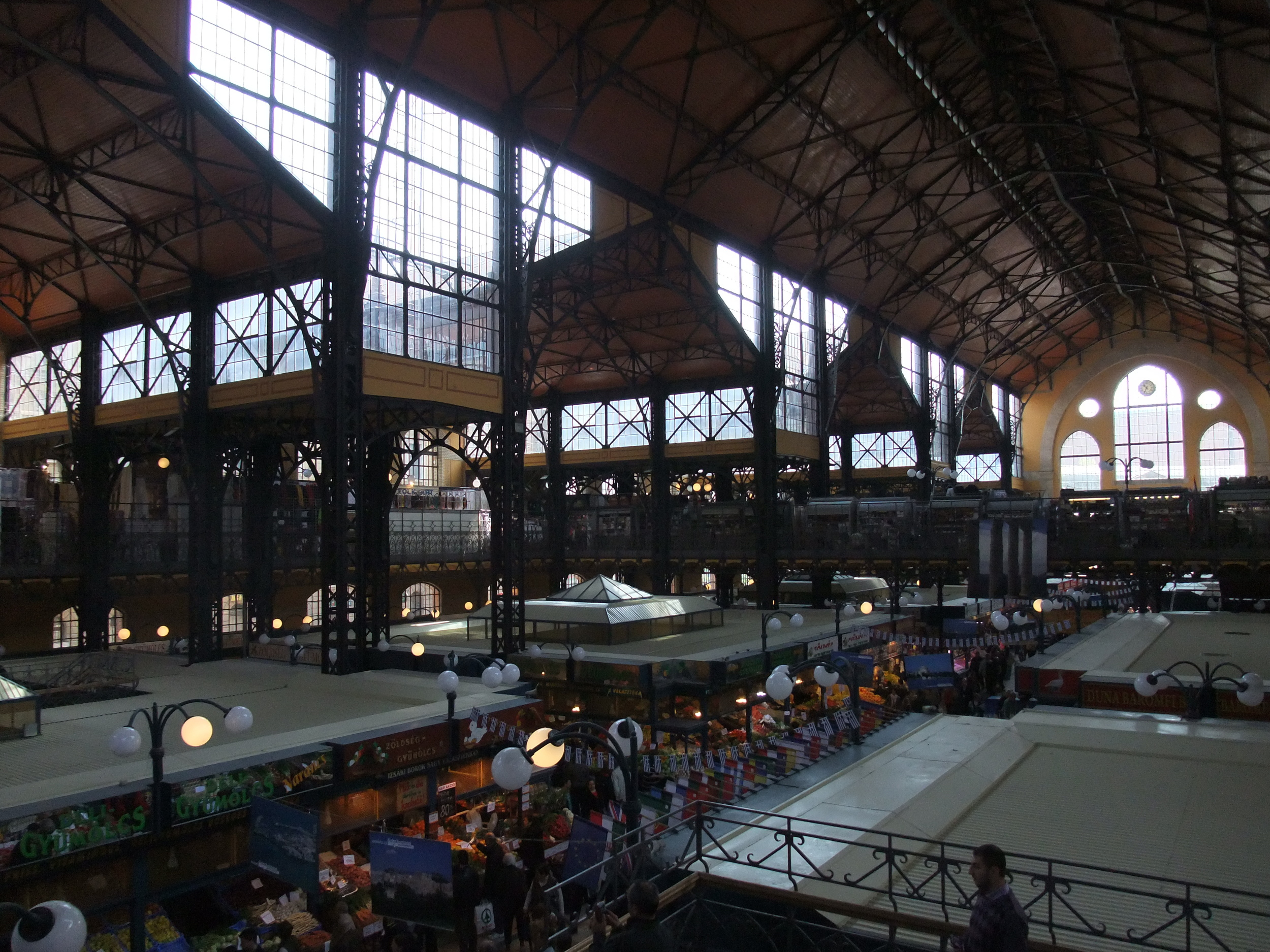 Inside the Great Market Hall