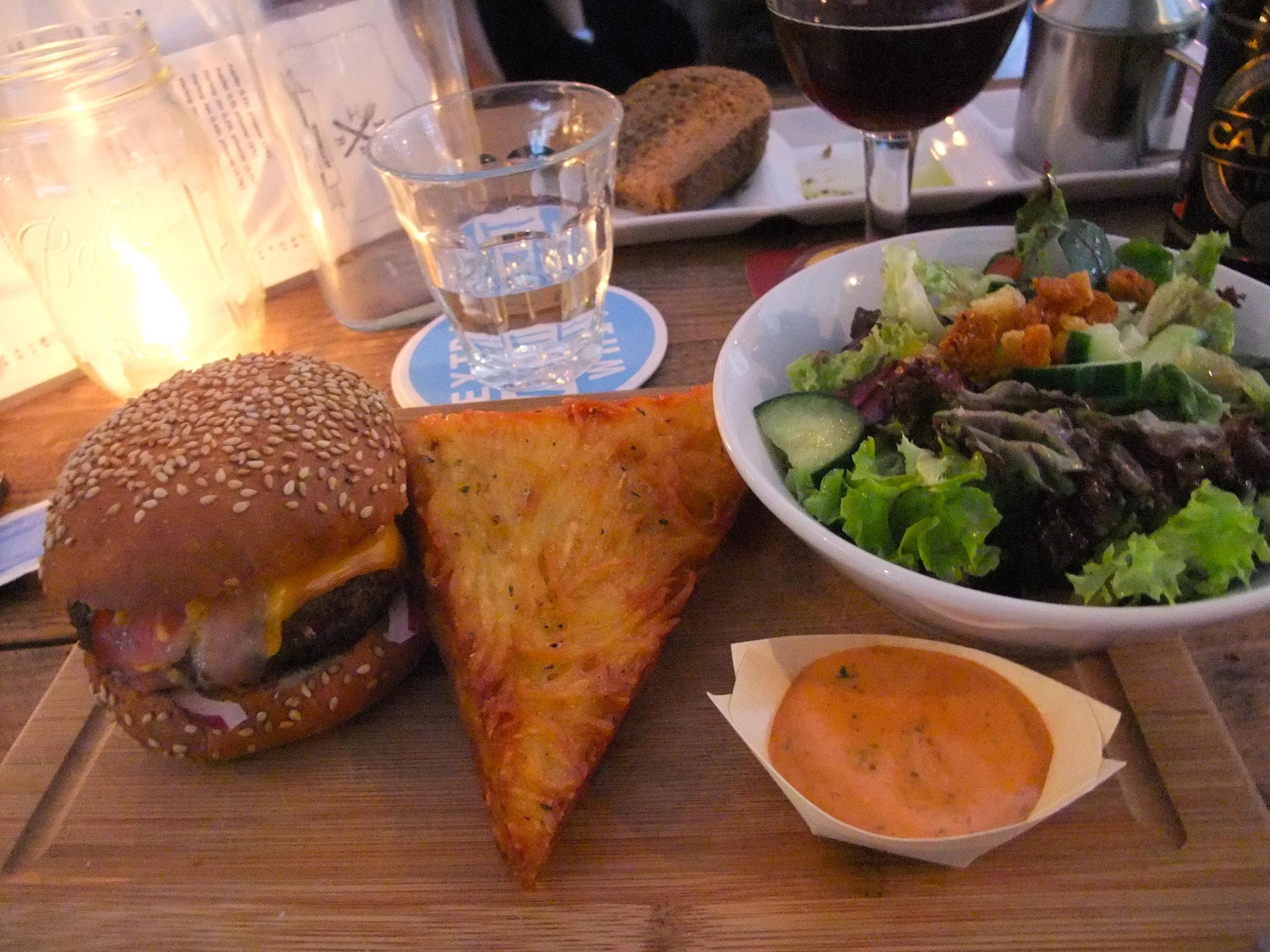 Fier burger