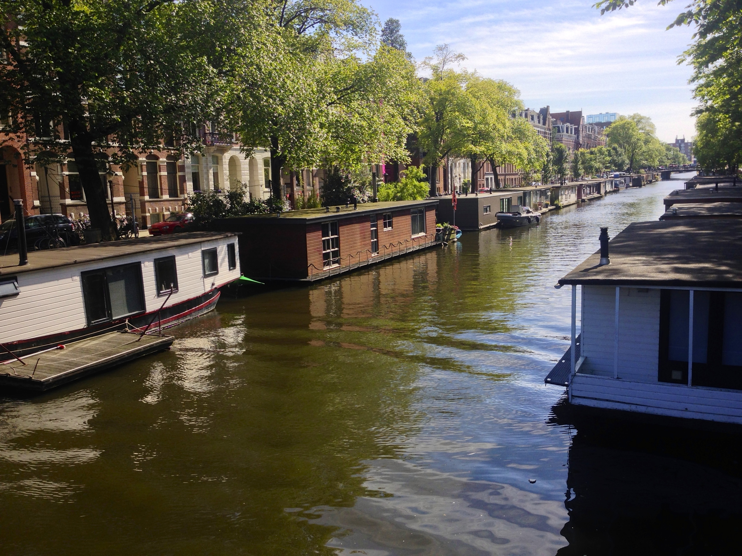 """Amsterdam, nicknamed the """"Venice of the North"""""""