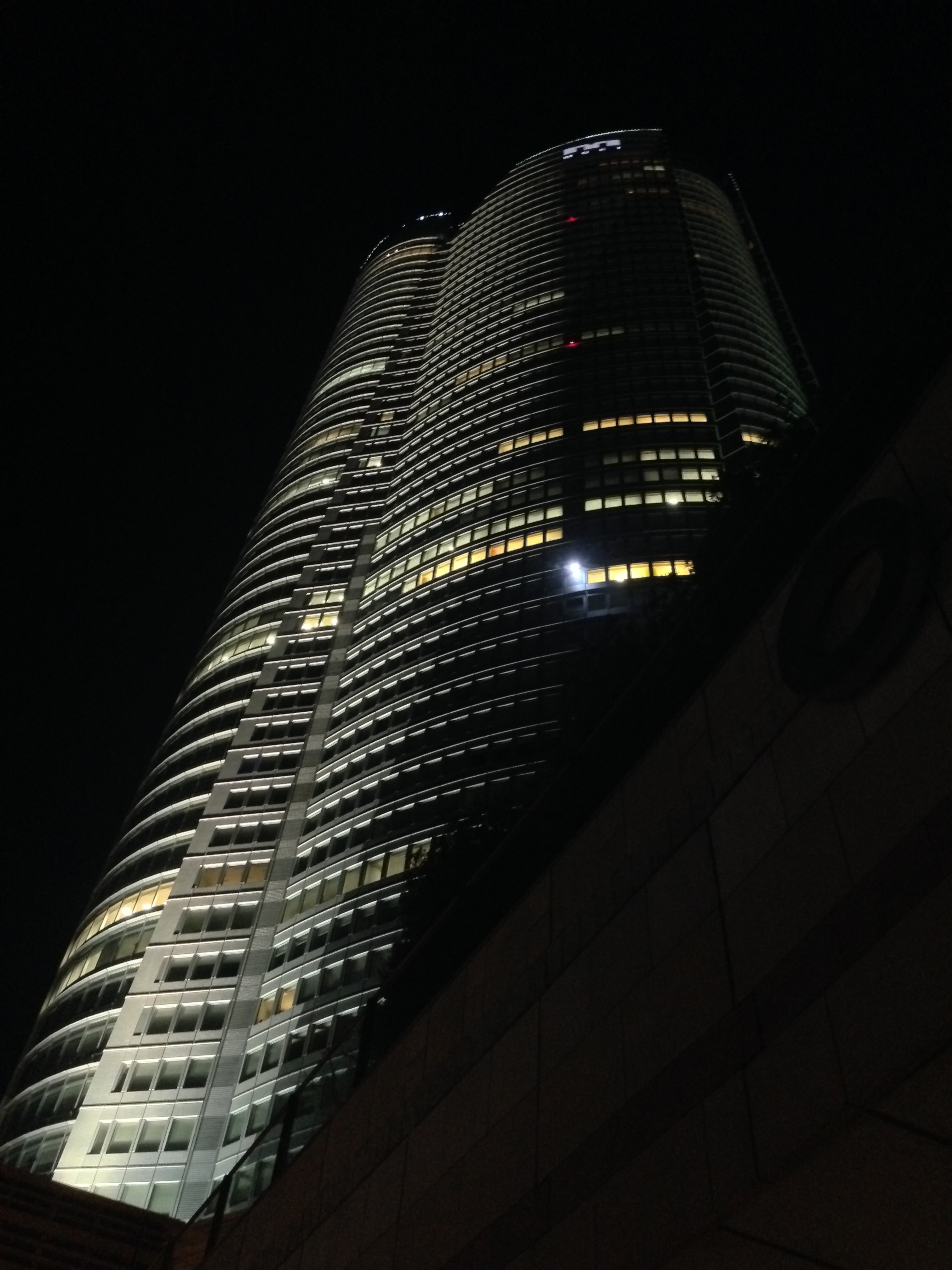 Mori Tower at night