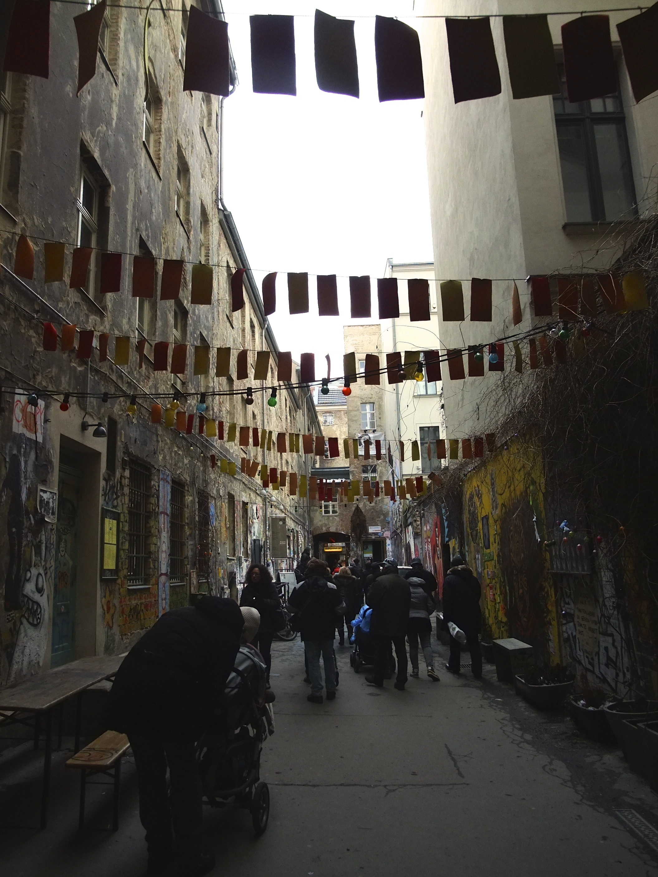 A side street around Hackescher Markt
