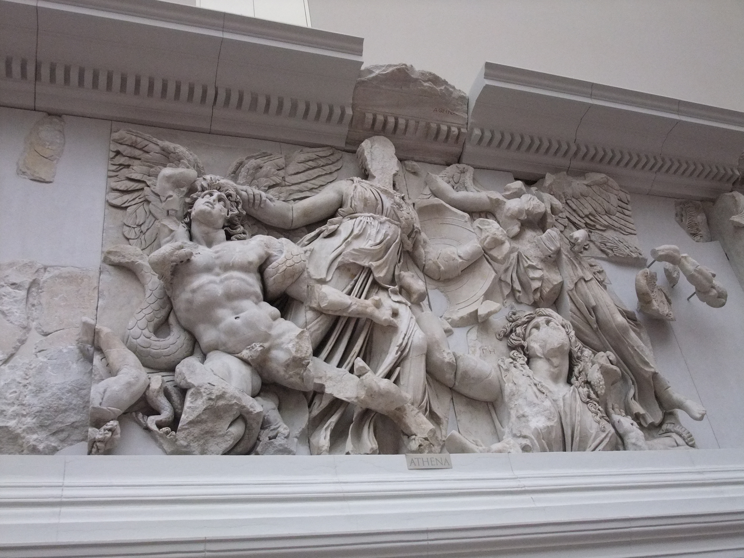 Frieze at the Pergamon Museum