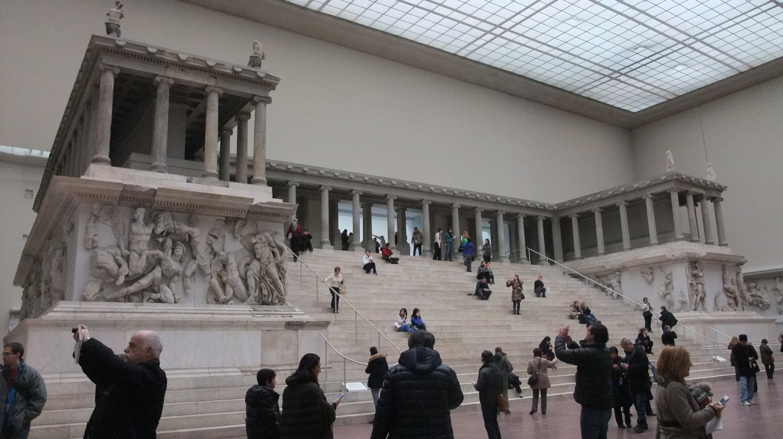 Pergamon Altar at the Pergamon Museum