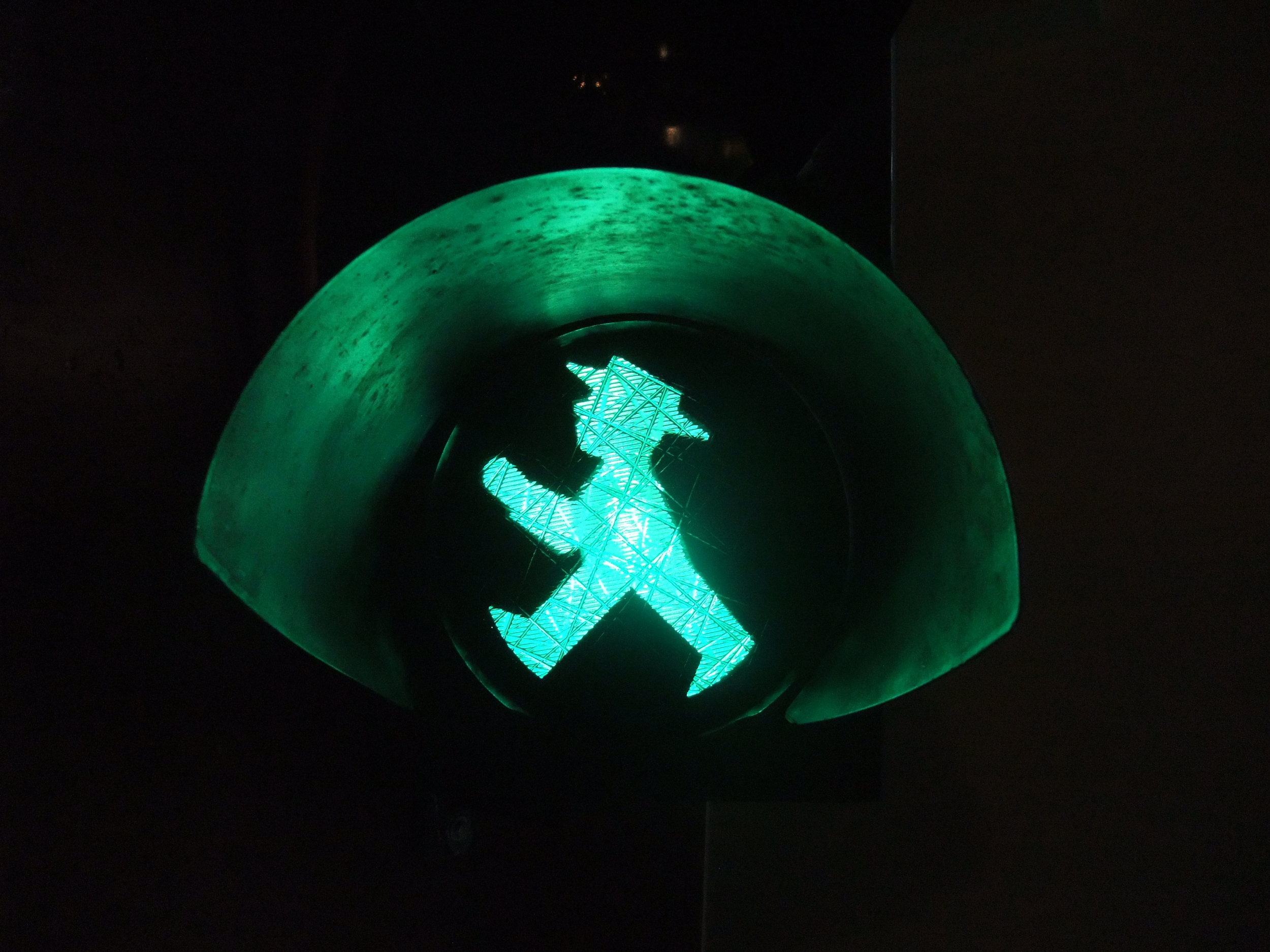 Iconic East Berlin  Ampelmännchen (little traffic light man)