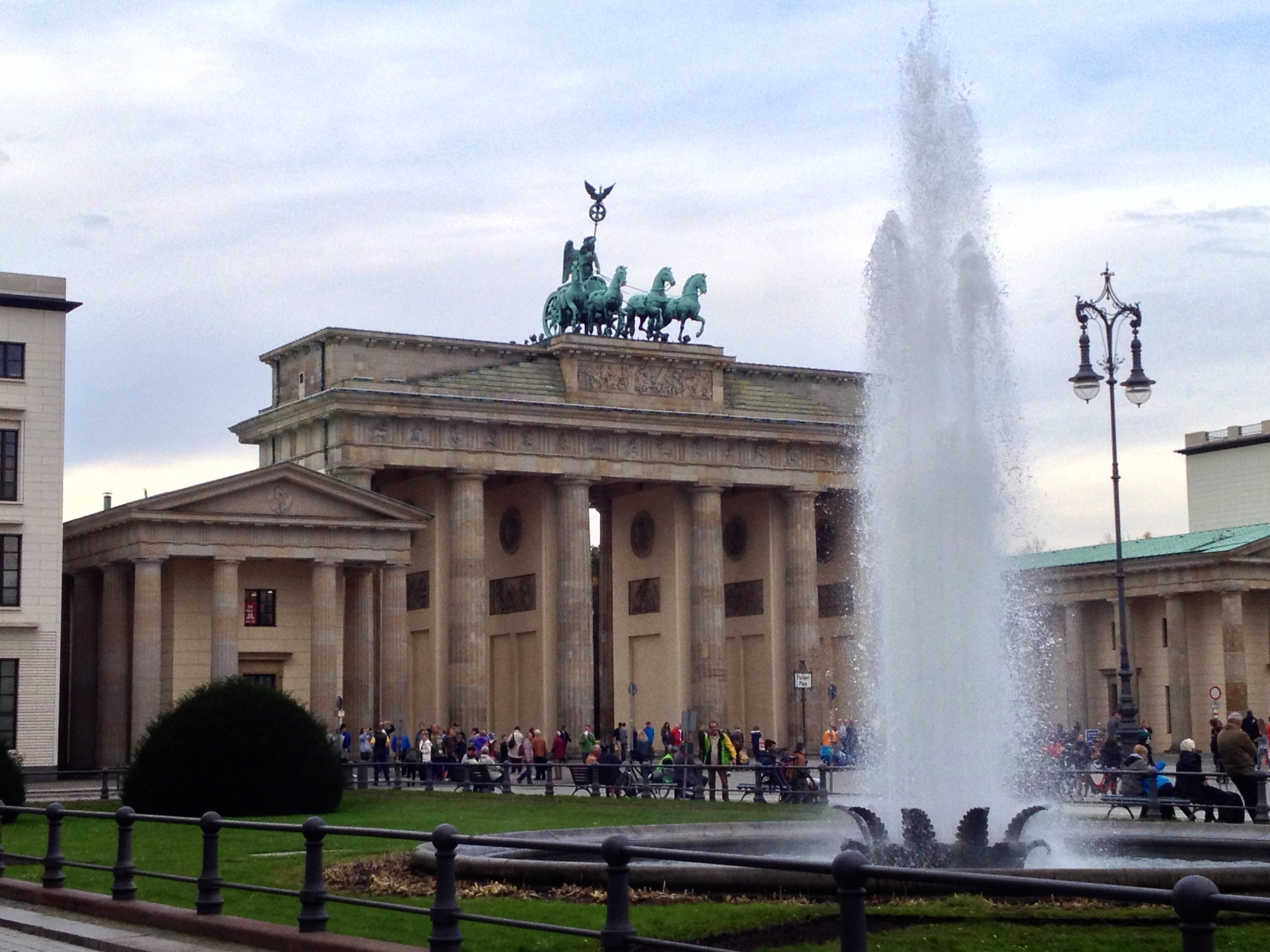 Pariser Platz and the Brandenburg Gate