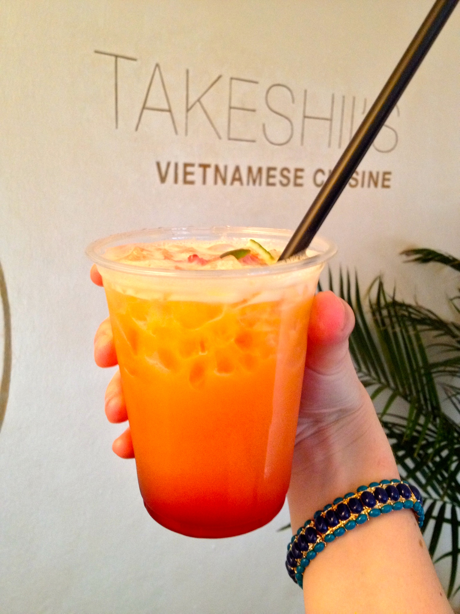 Saigon Love cocktail at Takeshii's