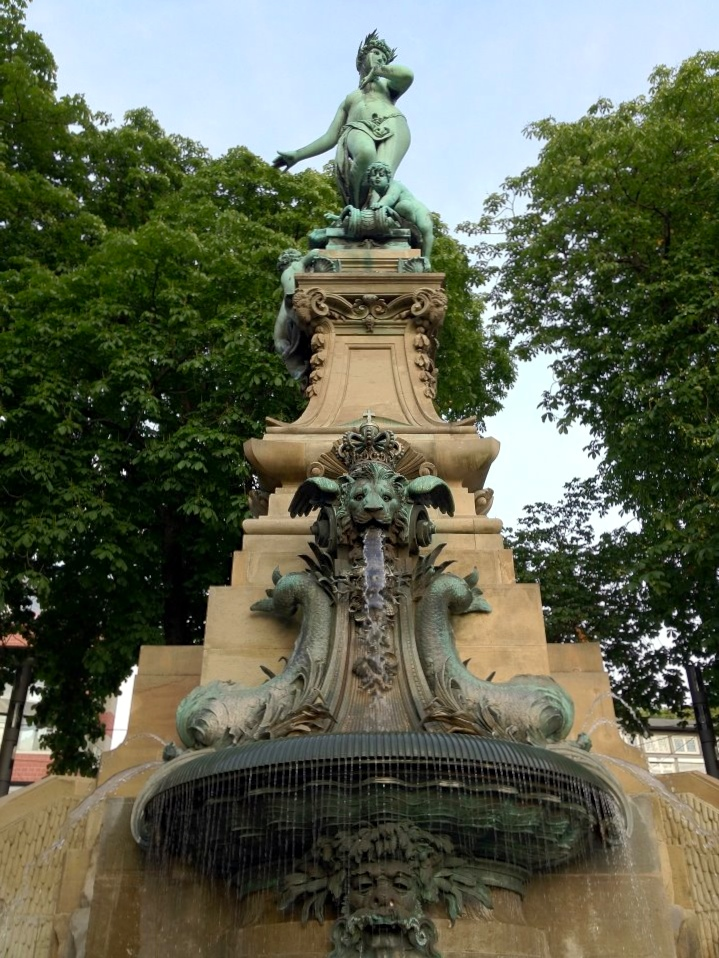 The fountain to the nymph Galatea