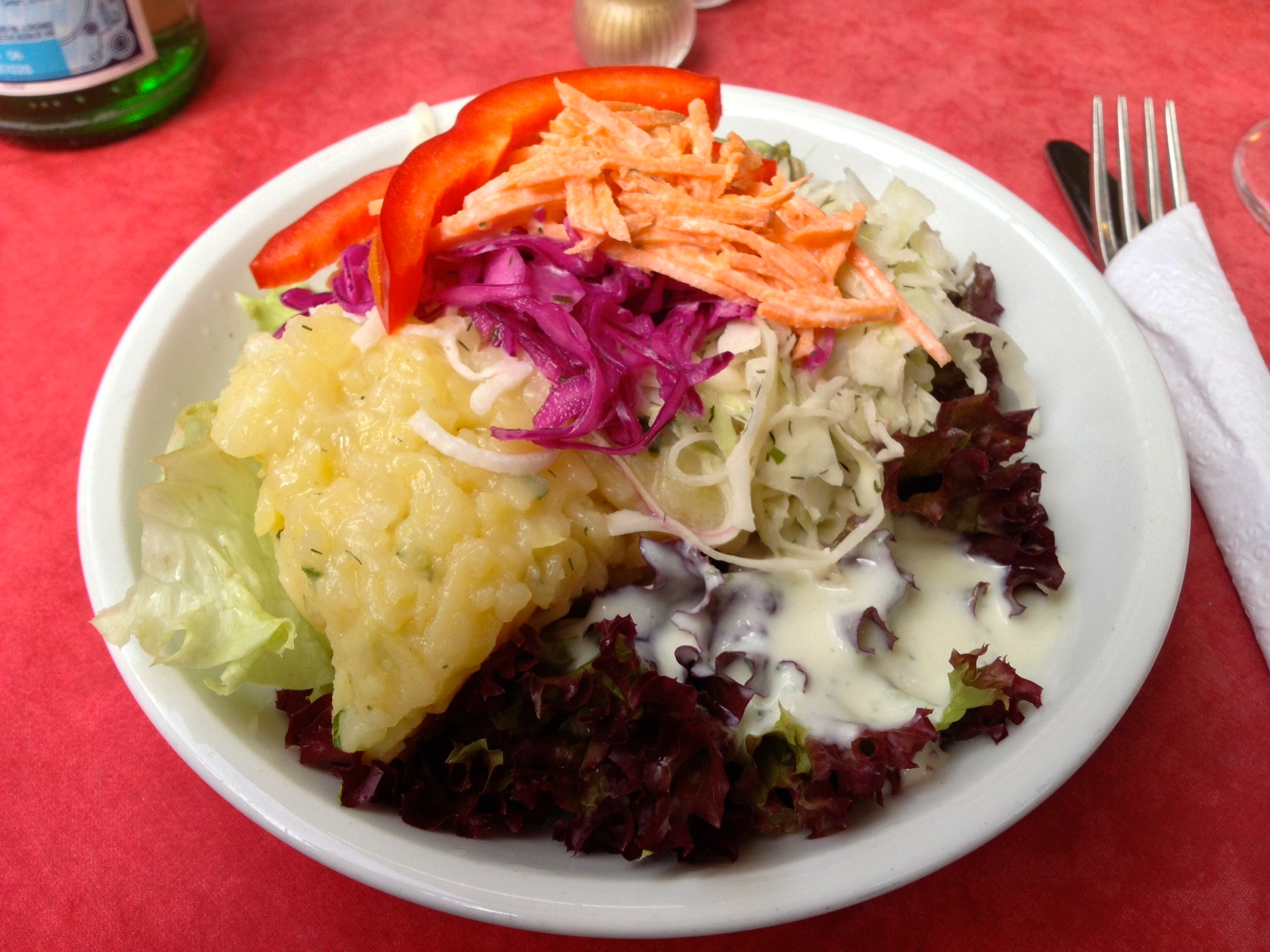 "A German ""side salad"""