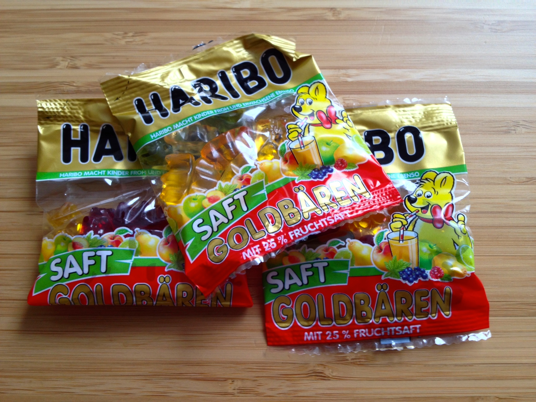 Haribo Gummy Bears (fruit-flavored)