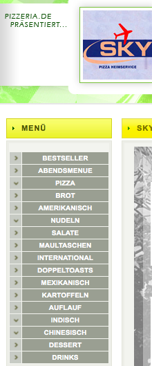 American, German, Indian, Mexican, Chinese, and pizza...all from one take-out place?!