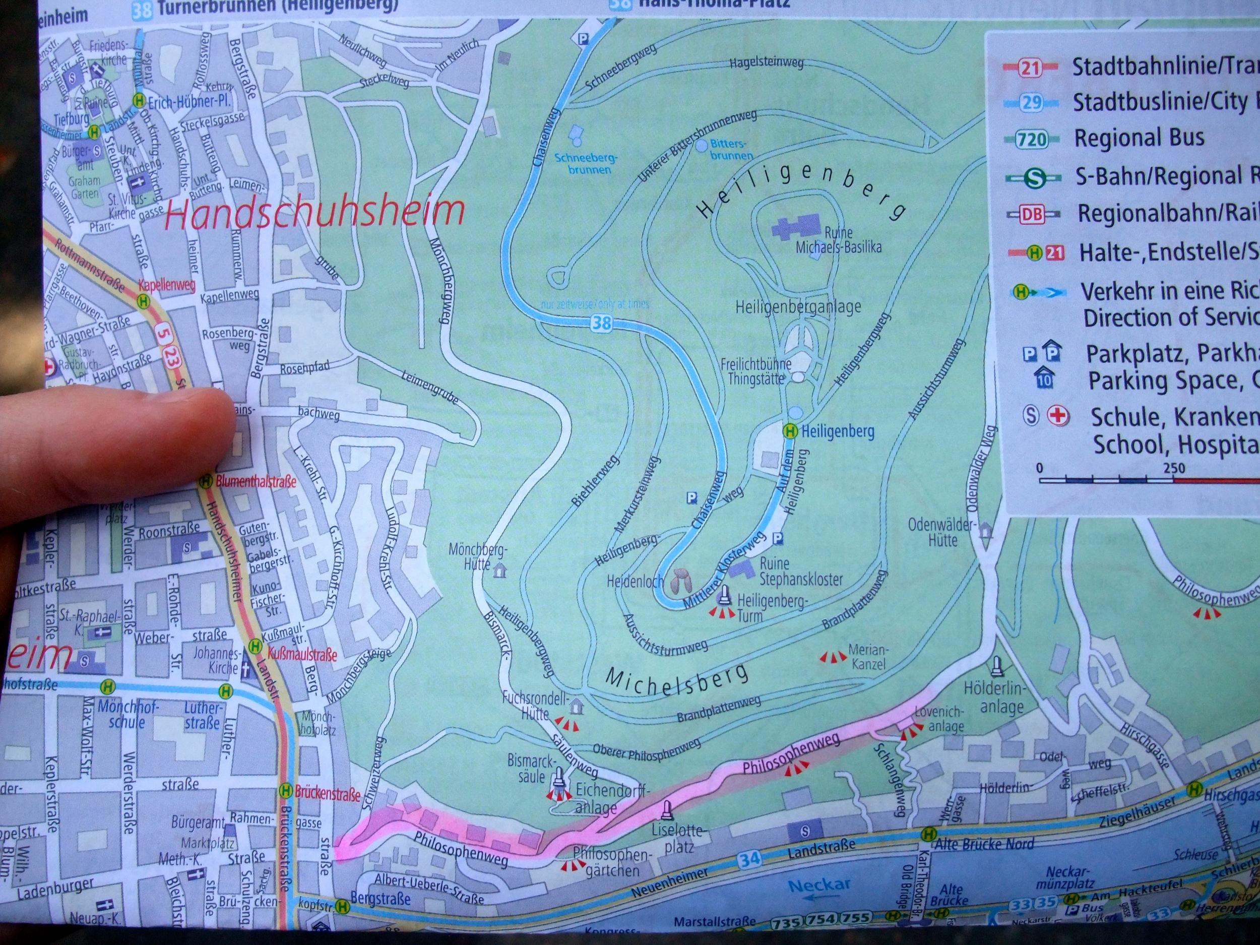 Free tourist map