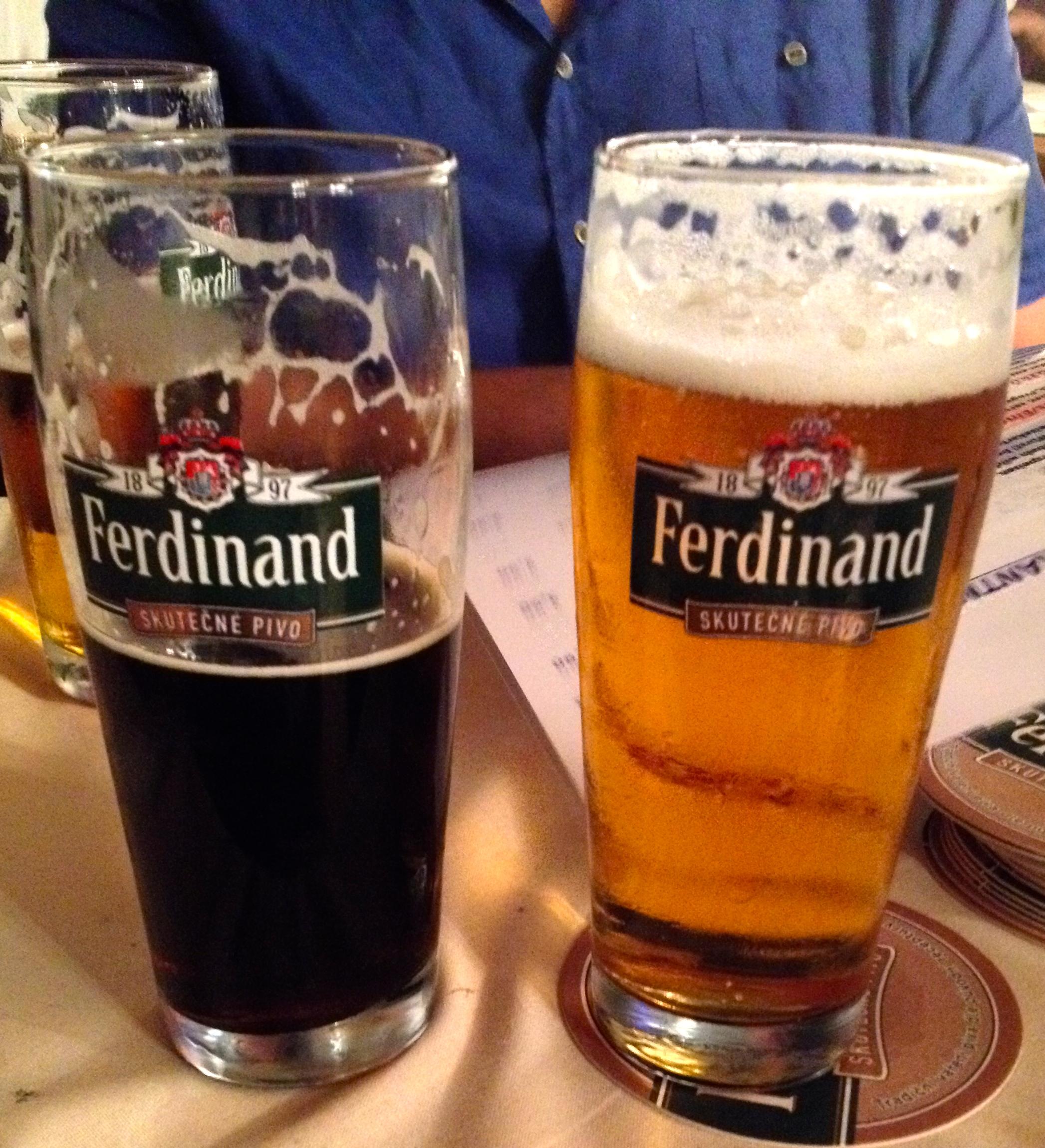 Ferdinand dark beer and the d'Este