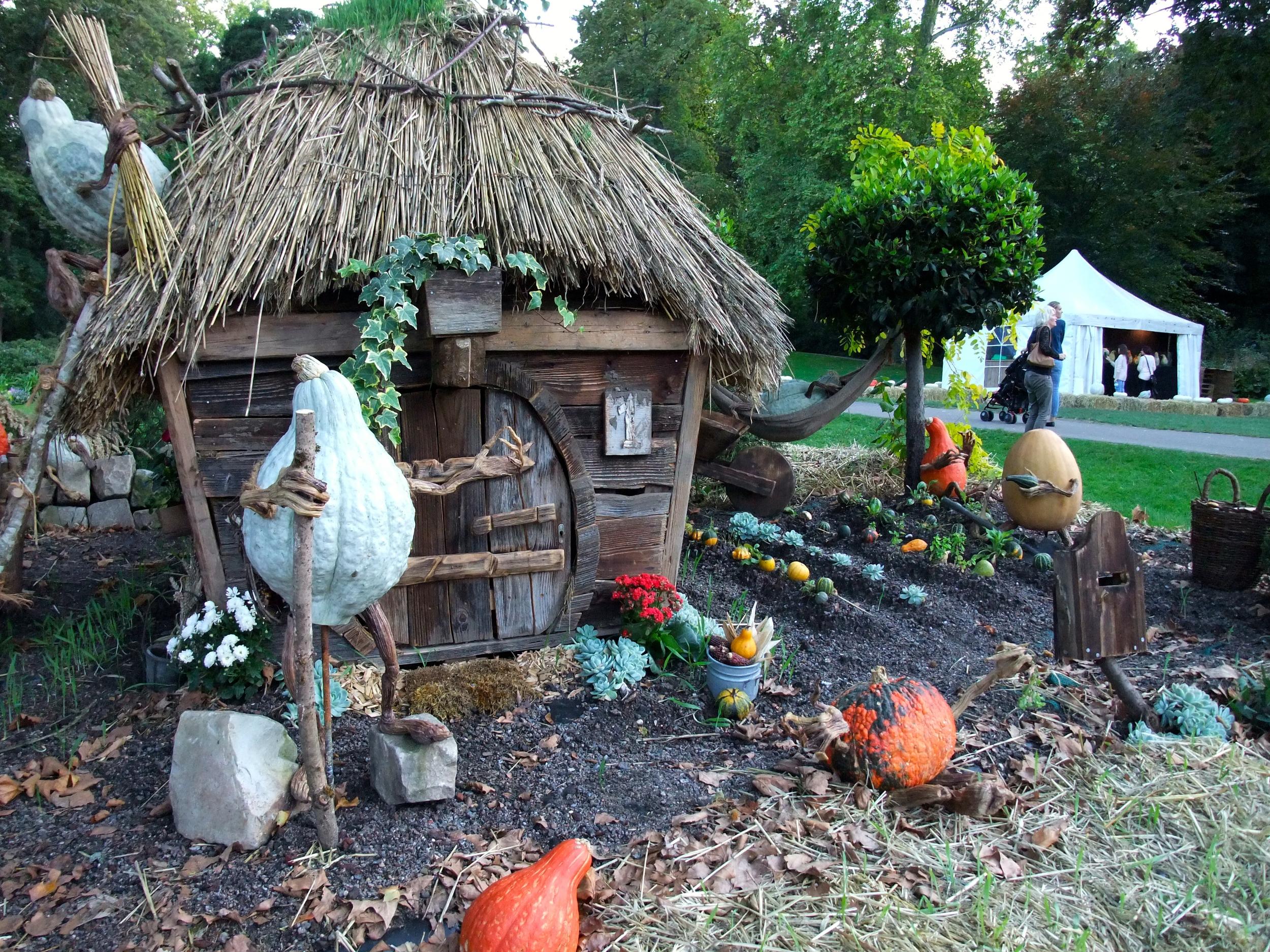 Gourds gardening (or Hobbit gourds?!)