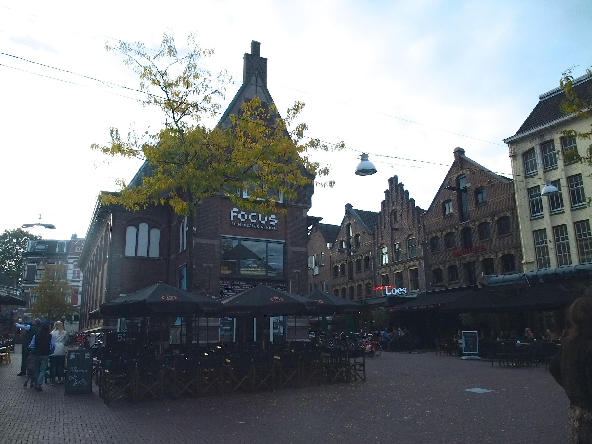 Korenmarkt in the city center