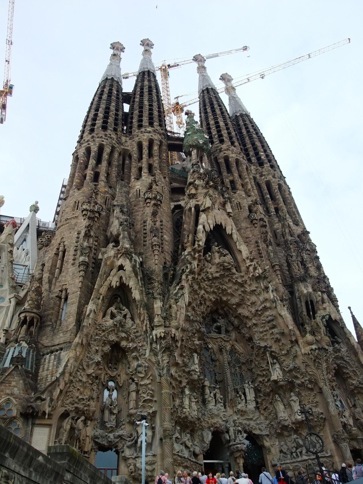 The Nativity Façade of Sagrada Familia