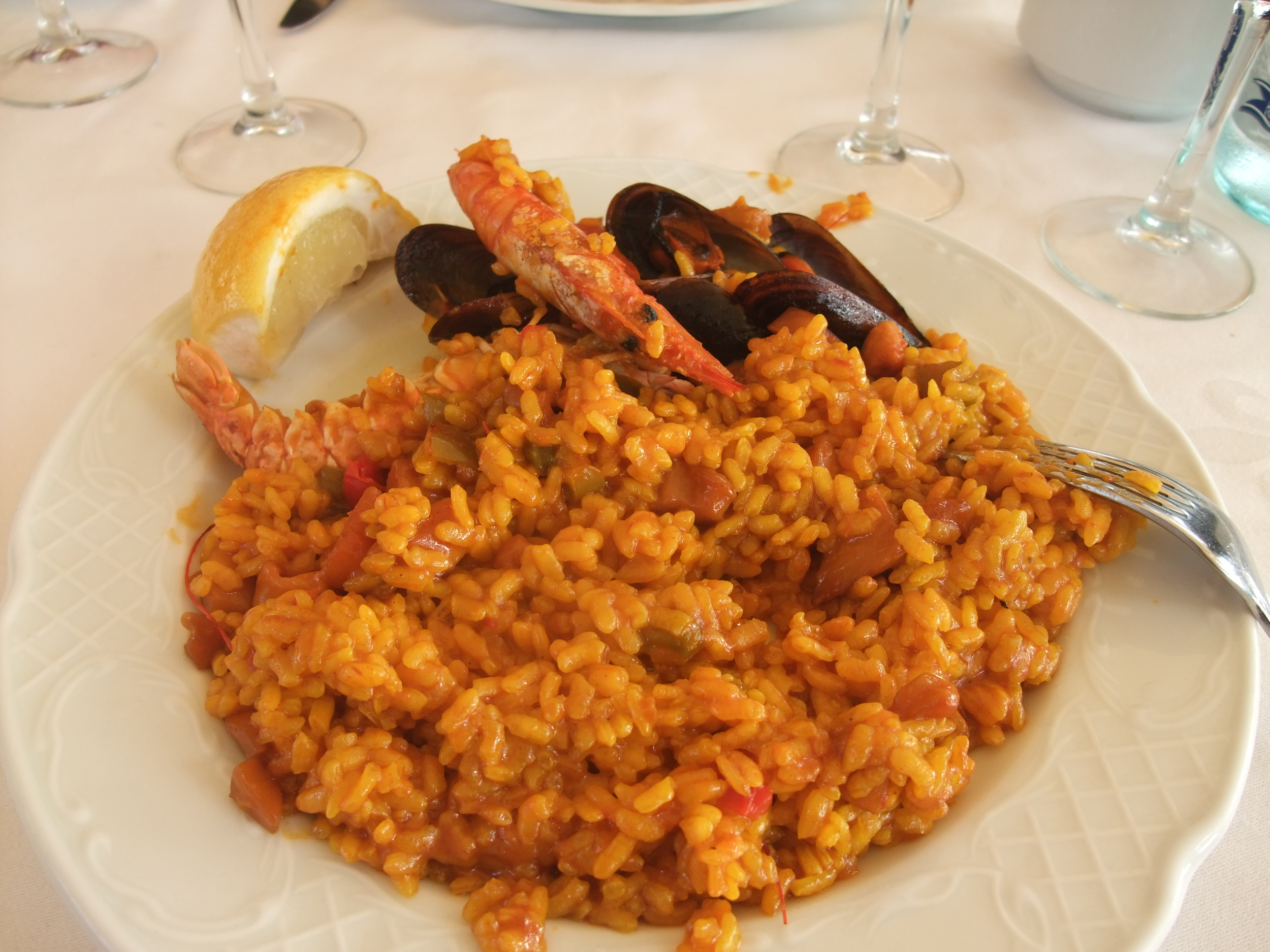Paella  lunch 2009