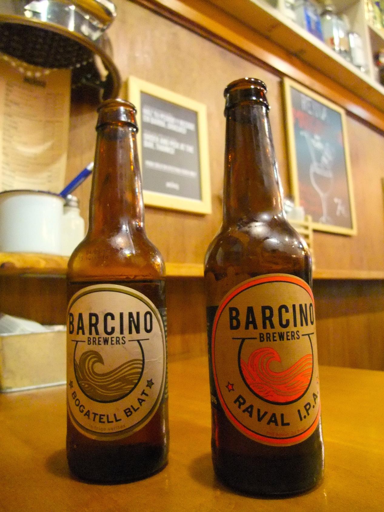 Local beer at  El Pachuco