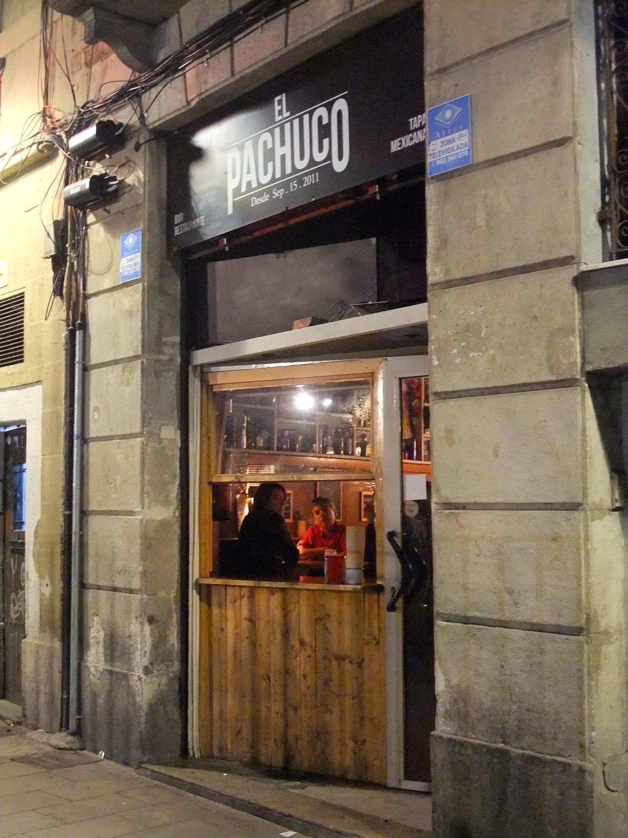 El Pachuco  in  El Ravel
