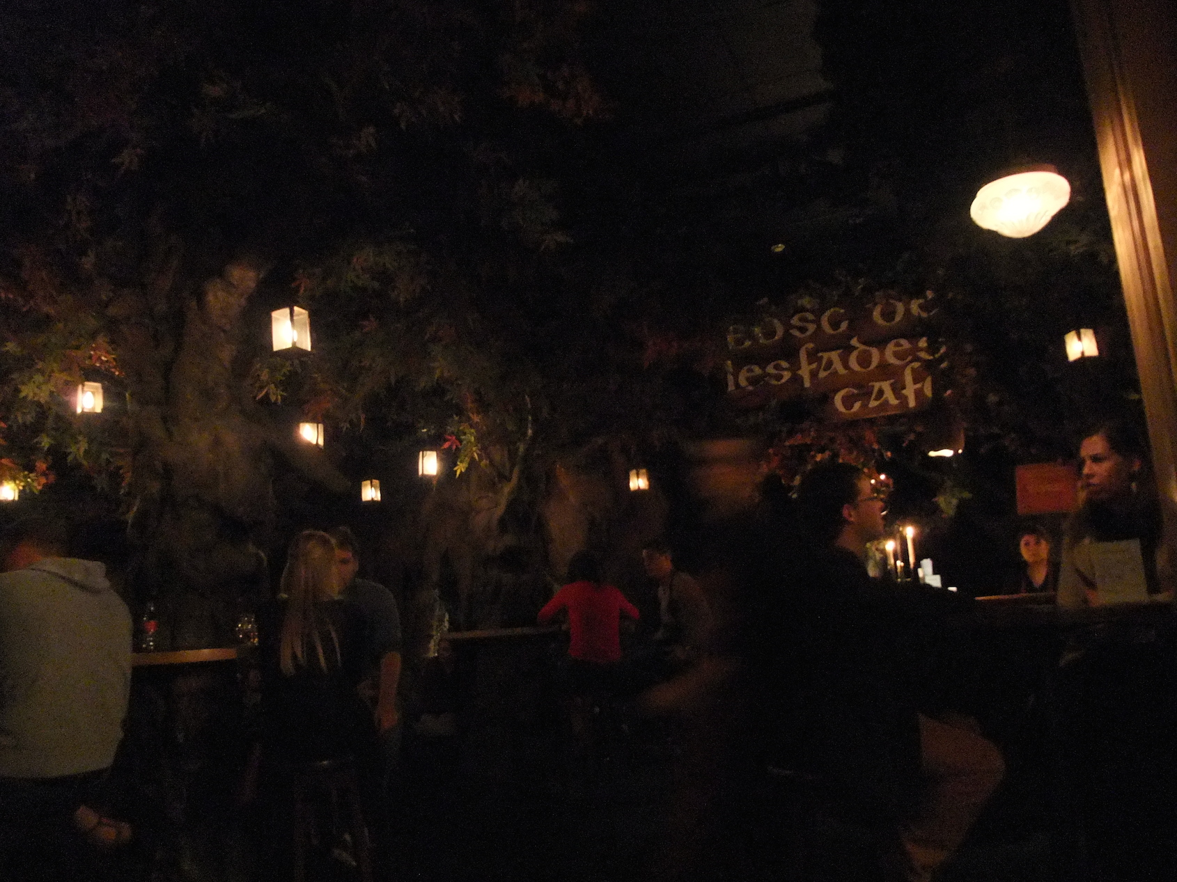 "The ""Cave of the Fairies"" bar"